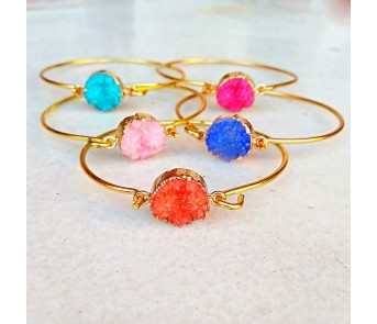 Pulseras Drusa Bangle