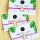 10 Pulseras de Hilo empaquetadas para regalo