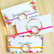 Pulseras como detalle para invitadas a bodas packaging