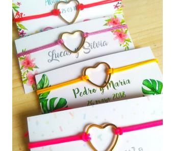 50 Pulseras de Hilo personalizadas para regalo