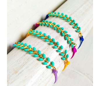 mejor amado 72692 1a8f6 Pulseras Turquoise Fish