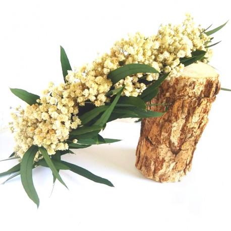 Corona de flores paniculata
