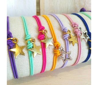 Pulseras Mini Estrellas